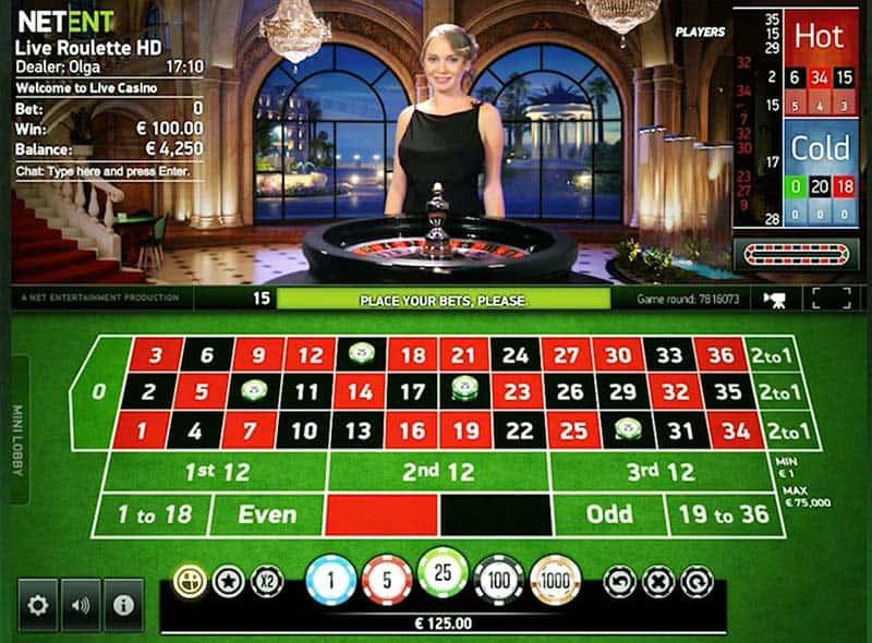 Hva bør du vite når du skal spille live casino