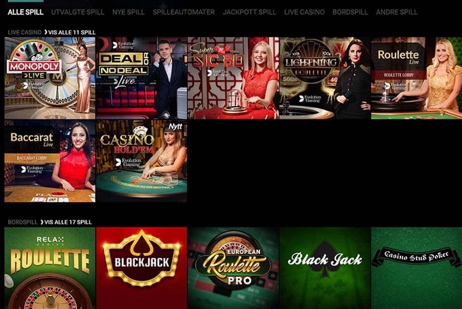 voodoo casino spill
